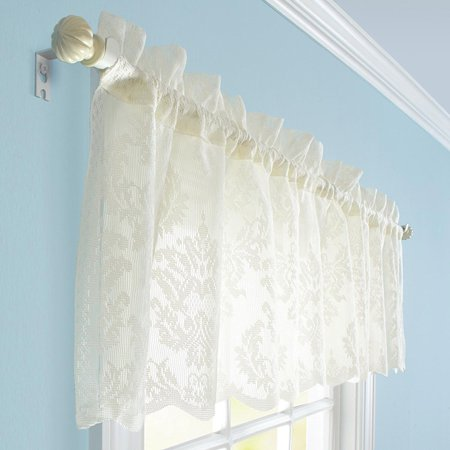 Better Homes And Gardens Cream Lace Valance Or Tier