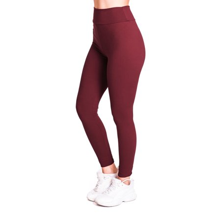 Avamo 7/8 Length Sports Compression Pants Plus Size for Women Running Training Exercise Leggings High Waist Moisture Wicking Basic Active Wear Wear Gym Wear Lounge Wear