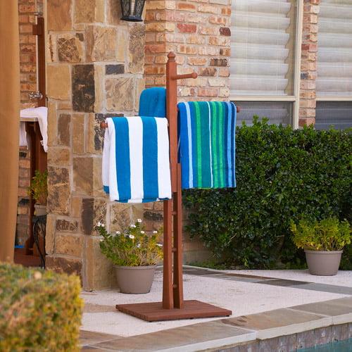 Sanibel Poolside Spa Towel Rack Walmartcom