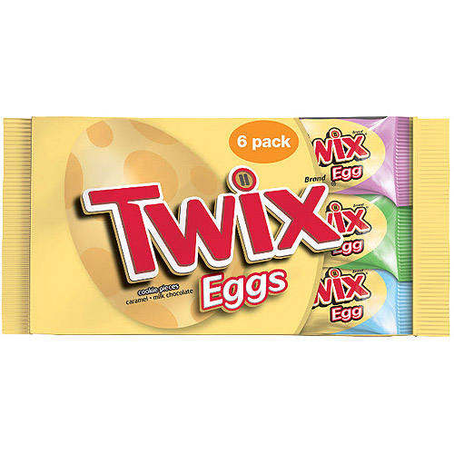 Twix Easter Eggs Cookie Pieces, 6 count, 6.36 oz