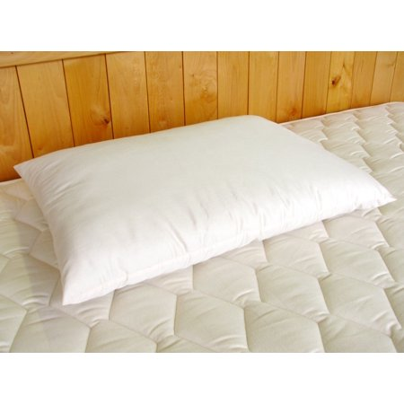 Holy Lamb certified organic cotton & Natural Wool Bed Pillows - Child