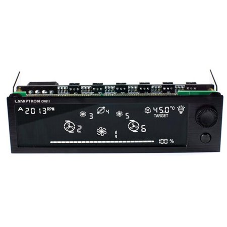 Lamptron 832-130-01 Controller For Water Cooling & Fan