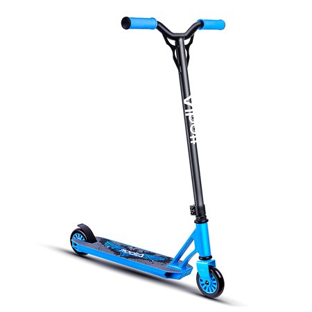 Albott Pro Scooters - Sports Stunt Scooter Freestyle Entry Level Trick Scooters with 6061 Aluminum Deck for Kids 8 Years and