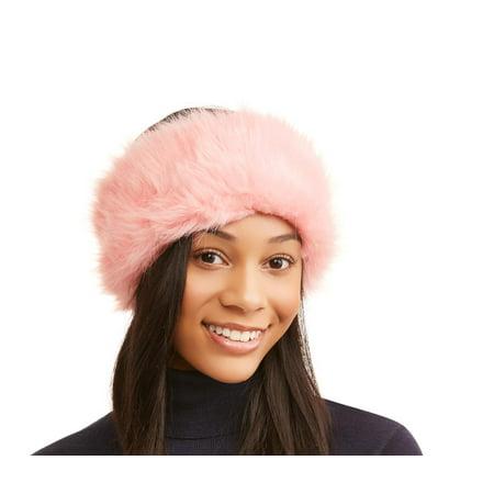 c6436a95db7 Faded Glory Faux Fur Headband - Walmart.com