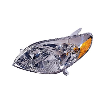 Replacement Driver Side Headlight For 03-05 Toyota Matrix 8115002220  TO2502140