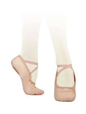 a31a88cea12e Product Image Sansha Adult Pink Leather Split-Sole Pro 1 Ballet Shoes  Medium Womens
