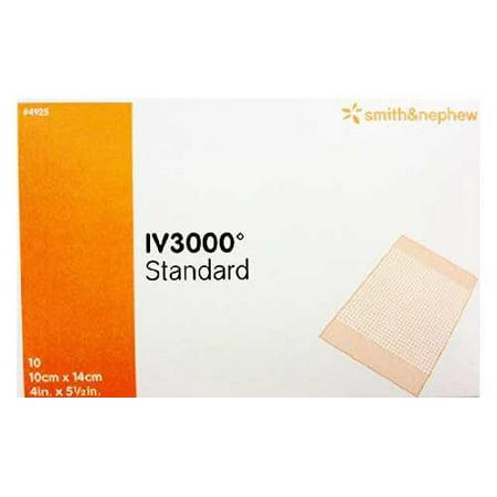 IV3000 Standard IV Dressing  4 X 5 Inch Square Film, 1 Dressing