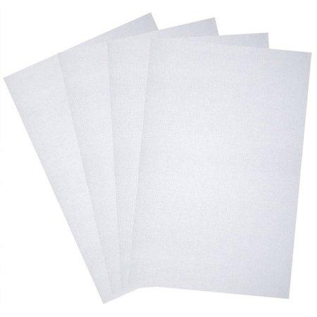 Aida White 14 Count Cross Stitch Cloth Fabric/Canvas- 4Pcs Cotton - 30cm x 45cm Counted Cross Stitch Pillow