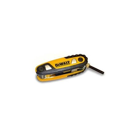 Dewalt DWHT70264 Folding Locking Hex Key Set - (Dewalt Locking Handles)