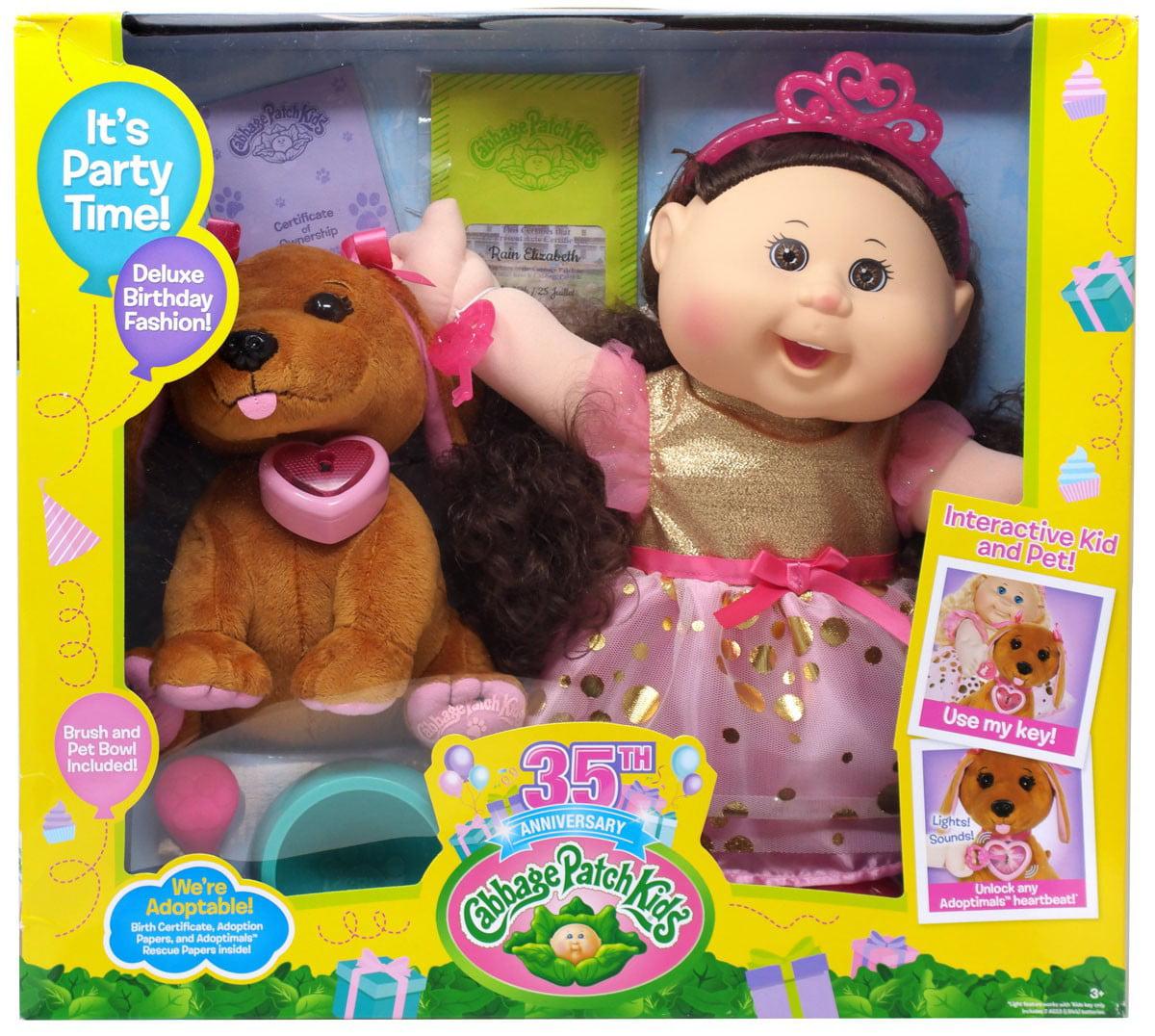 Cabbage Patch Kids Adoptimals Rain Elizabeth Doll by