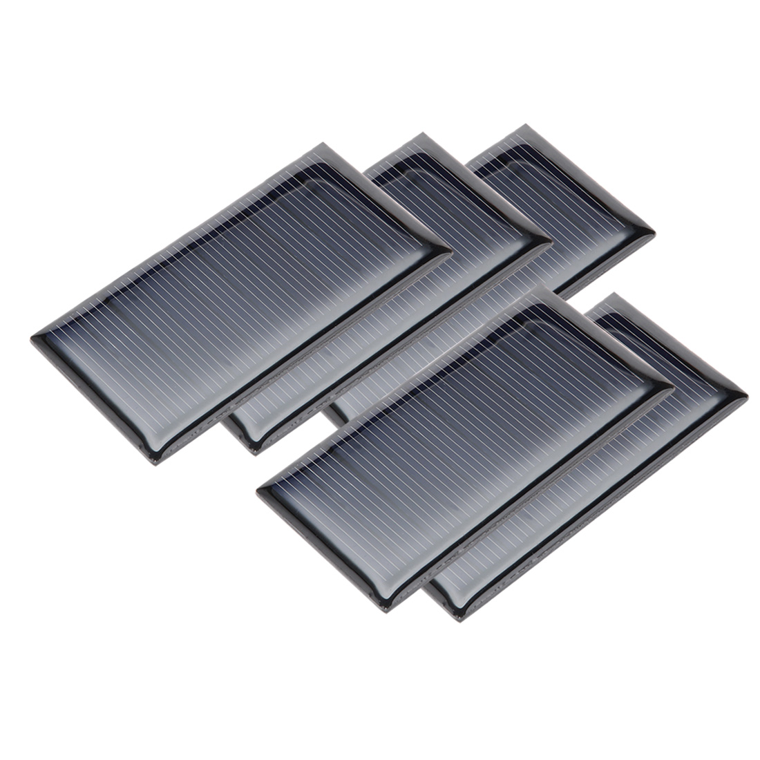 5Pcs 5V 60mA Poly Mini Solar Panel Module DIY for Phone Toys Charger 67.5mmx35mm
