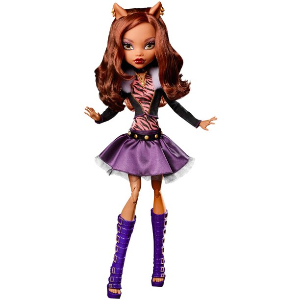 Monster High Frightfully Tall Ghouls Clawdeen Wolf Doll Walmart Com Walmart Com