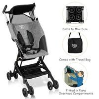 Costway Buggy Portable Pocket Compact Lightweight Stroller Easy Handling Folding Travel
