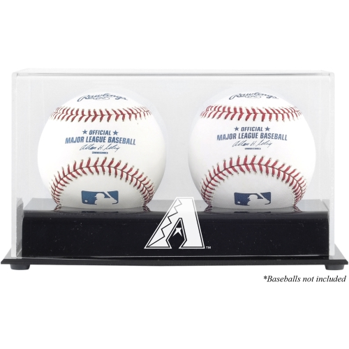 Arizona Diamondbacks Two Baseball Cube Logo Display Case