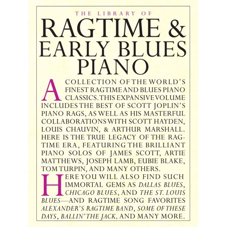 The Library of Ragtime & Early Blues Piano - eBook