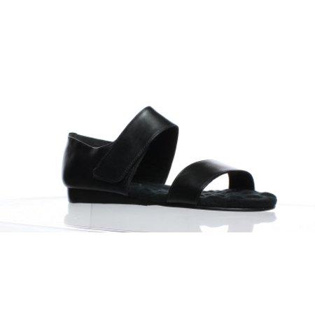 Walking Sandals - Walking Cradles Womens Fuse Black Sandals Size 6.5 (C,D,W)