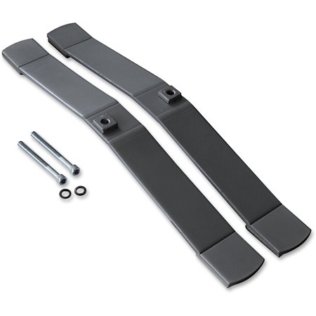 Lorell, LLR90261, Panel Feet, 2 / Set, Aluminum