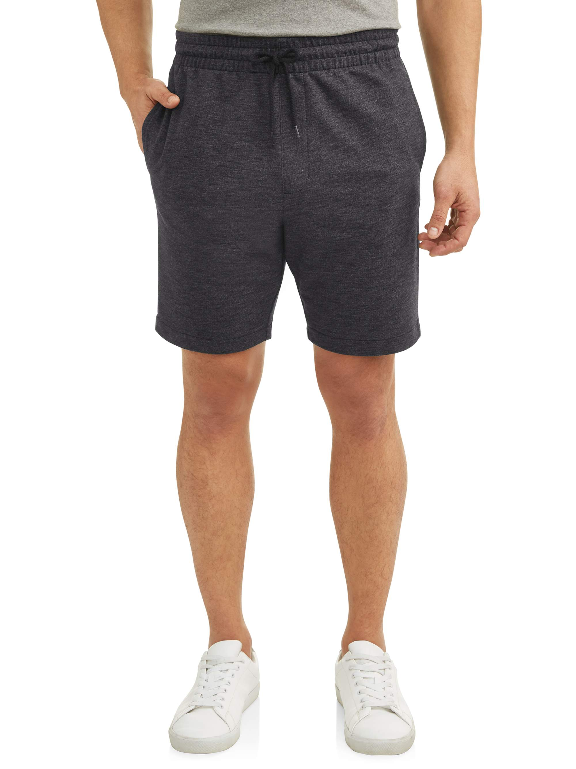 Big Men's Knit Jogger Shorts