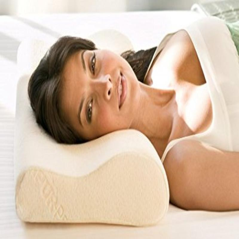 tempurpedic low profile neck pillow