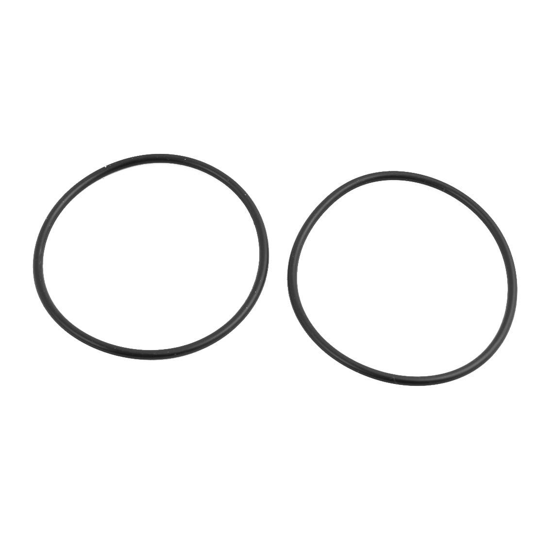 20Pcs Black Round Nitrile Butadiene Rubber NBR O-Ring 46mm OD 1.9mm Width - image 1 de 2