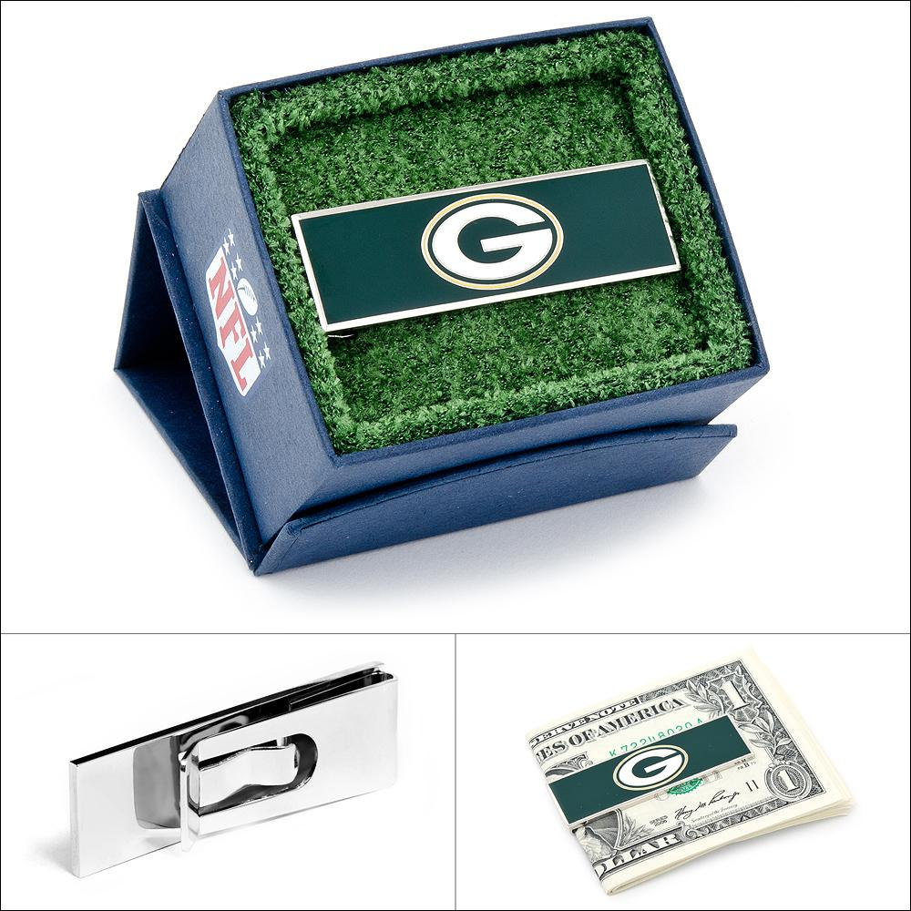 PD-GBP-MC Green Bay Packers Money Clip