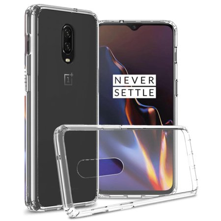 separation shoes c08de c83f9 CoverON OnePlus 6T Case, ClearGuard Series Clear Hard Phone Cover