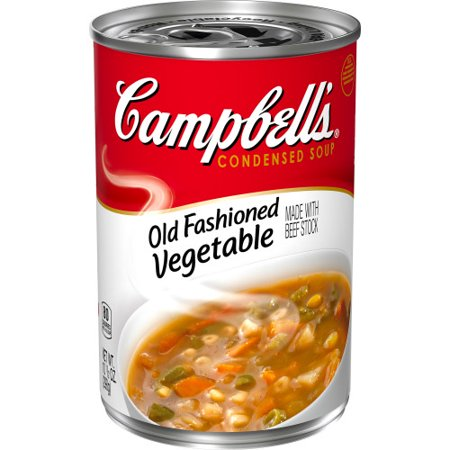 Campbell'sCondensed Old Fashioned Vegetable Soup, 10.5 oz. Can Vegetable Beef Soup