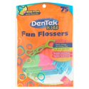 75-Count Dentek Fun Flossers Wild Fruit Floss Picks