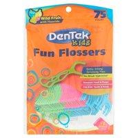 75-Count Dentek Fun Flossers Wild Fruit Floss Picks
