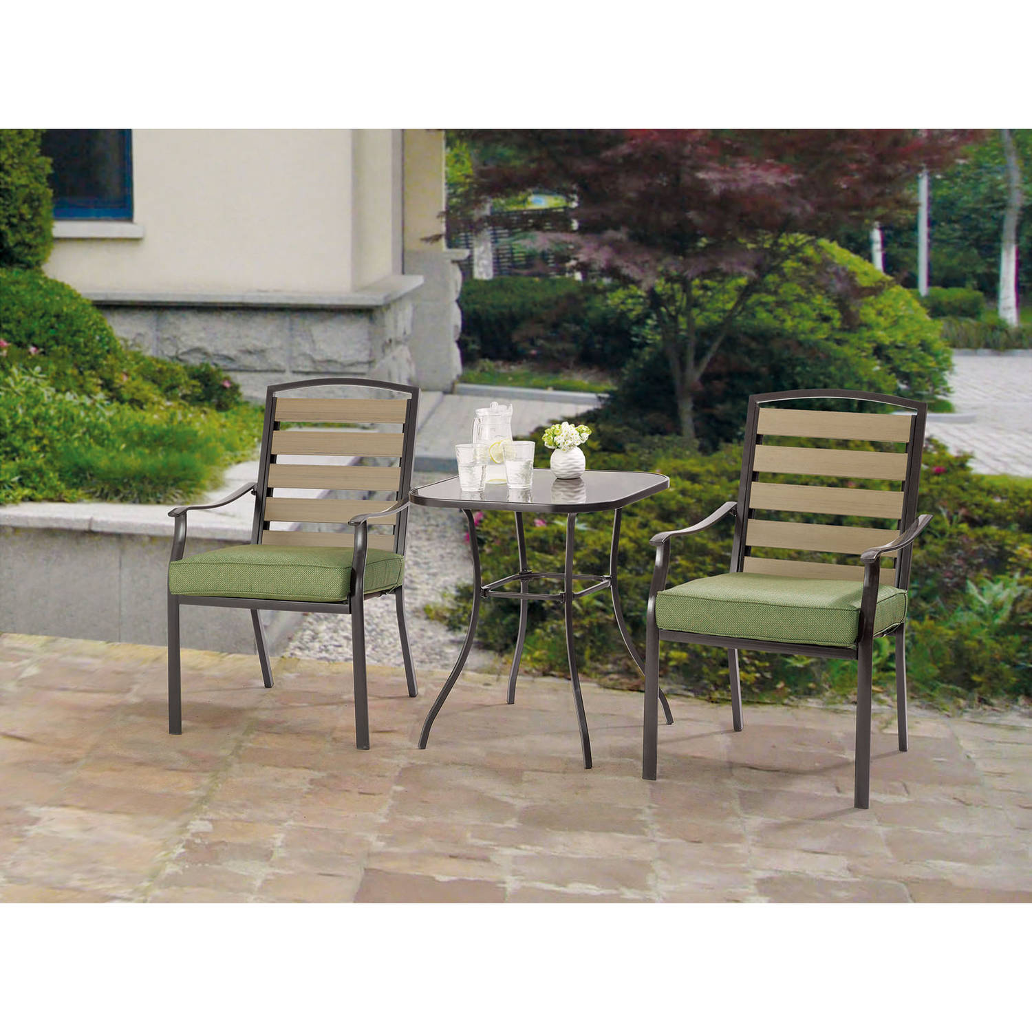 Mainstays Bryant Meadows 3-Piece Bistro Set