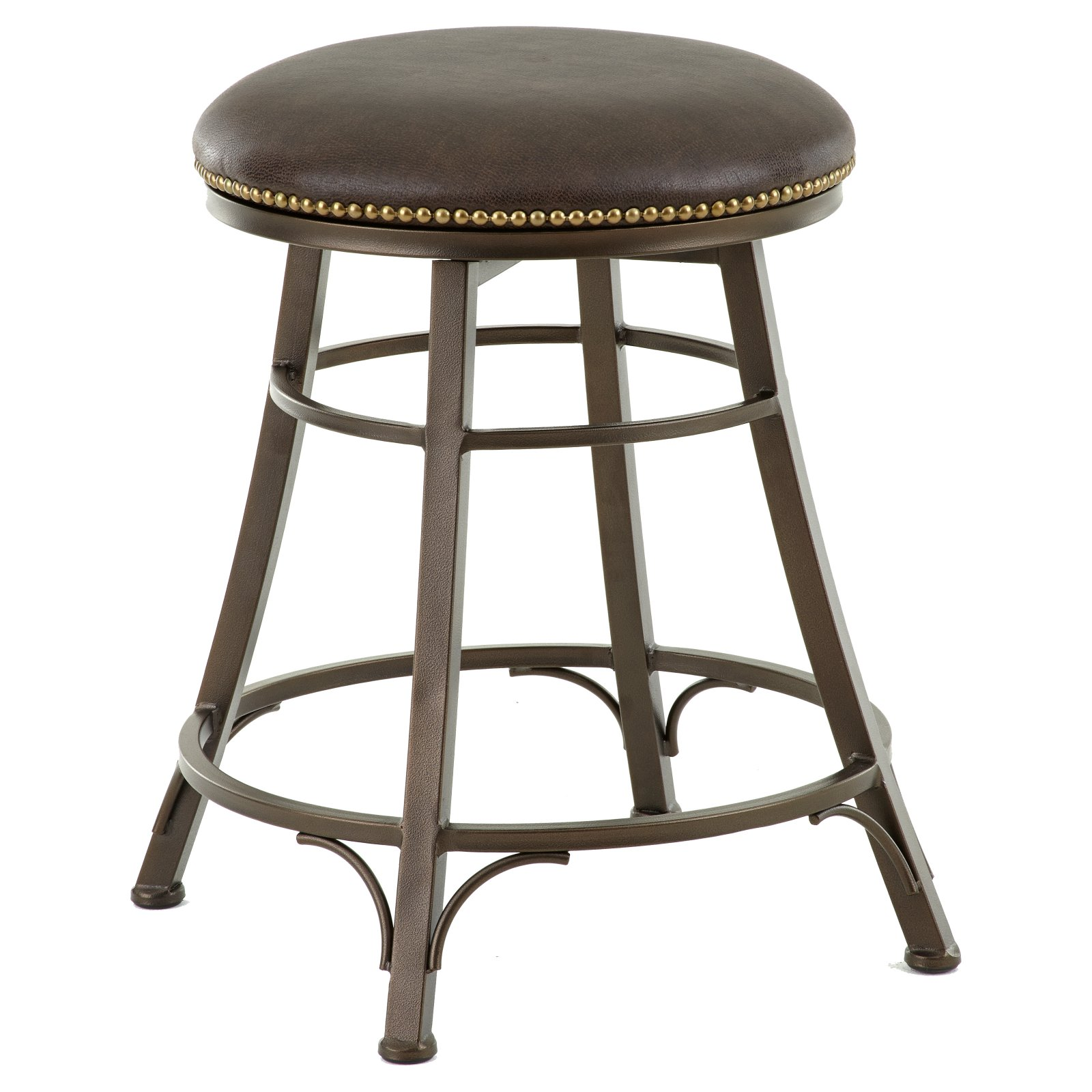 Steve Silver Bali 24 in. Backless Swivel Counter Stool by Steve Silver Company