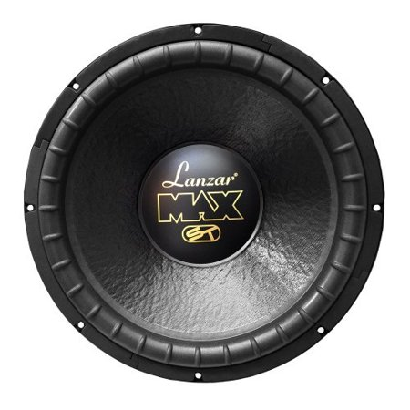 SOUND AROUND/LANZAR AUDIO MAX15D 15   1200 Watt Dual Voice Coil Subwoofer Driver for Small Enclosures