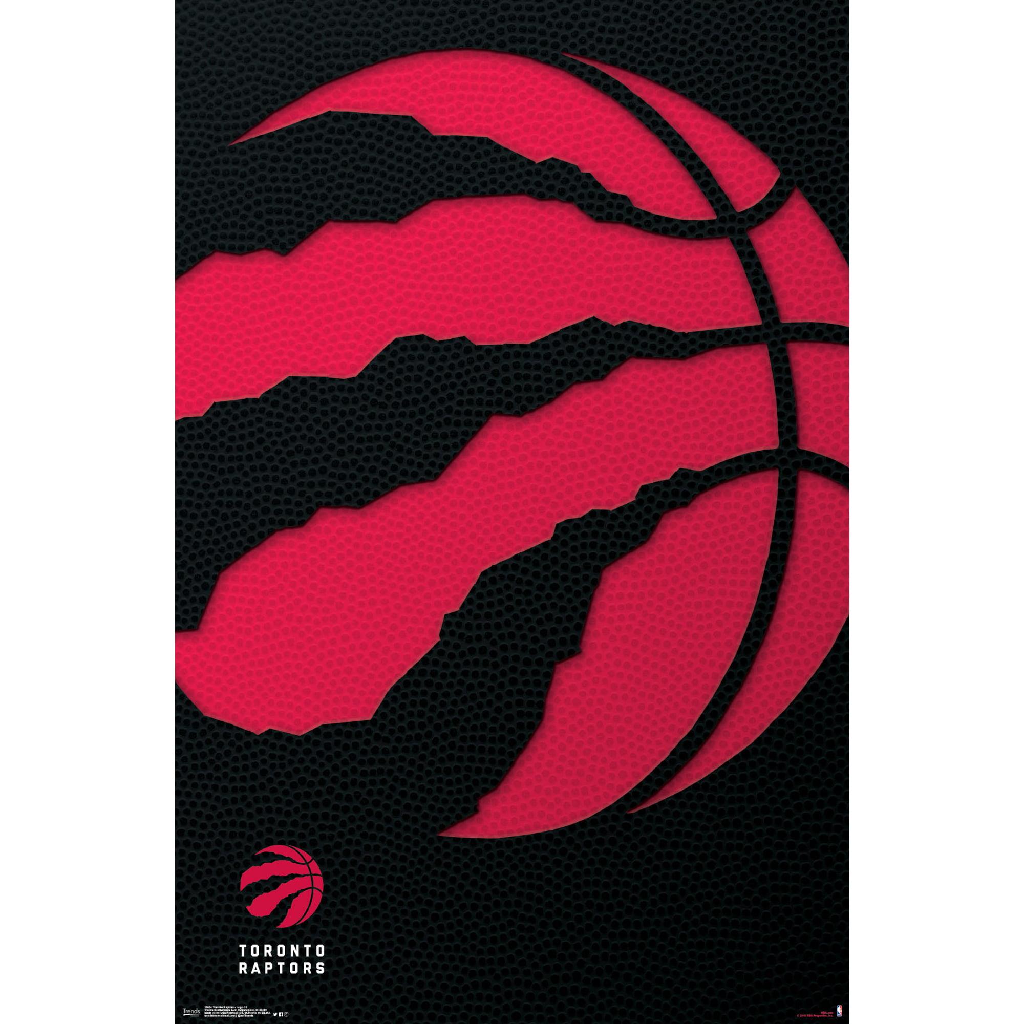 Toronto Raptors 22'' x 34'' Logo Team Poster - No Size