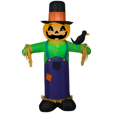 Halloween Airblown Inflatable Scarecrow 4FT Tall](Halloween Airblown Inflatables)