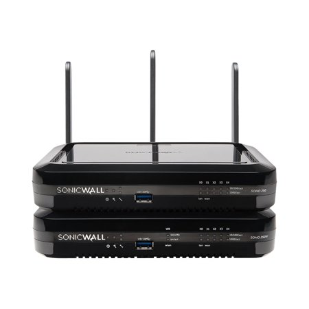 SonicWall SOHO 250 Wireless-N - Security appliance - GigE - Wi-Fi - Dual Band - SonicWALL Secure Upgrade Plus Program (2 years option)