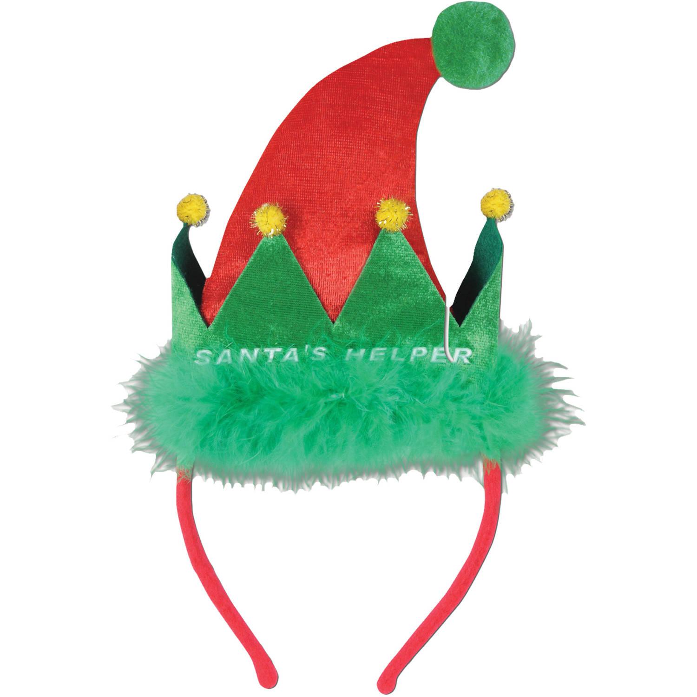 Santa Helper Headband Adult Halloween Accessory