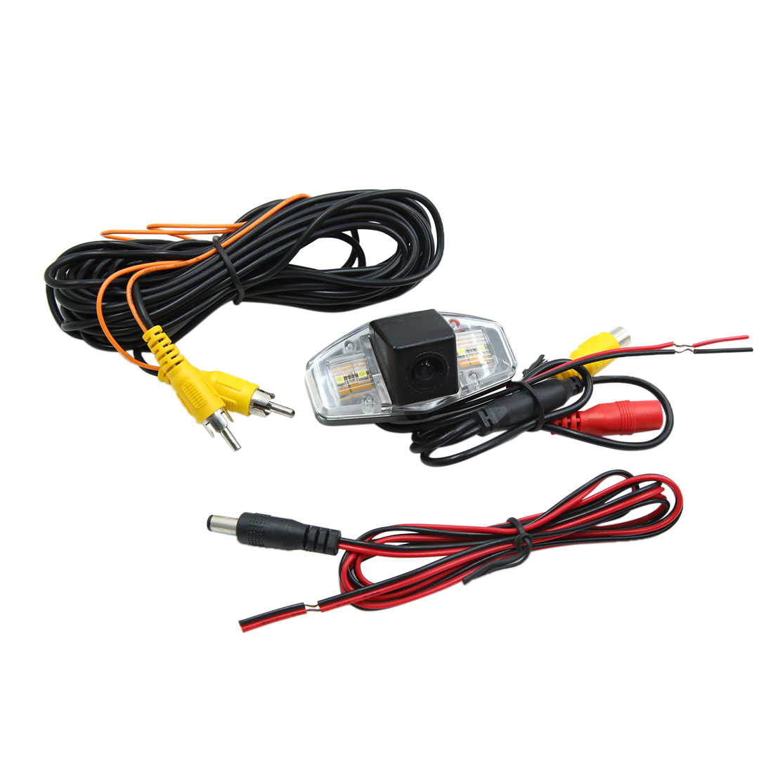 DC 9-16V HD CCD Car Rear View Camera Recorder with LED Light for Honda Accord - image 4 de 4