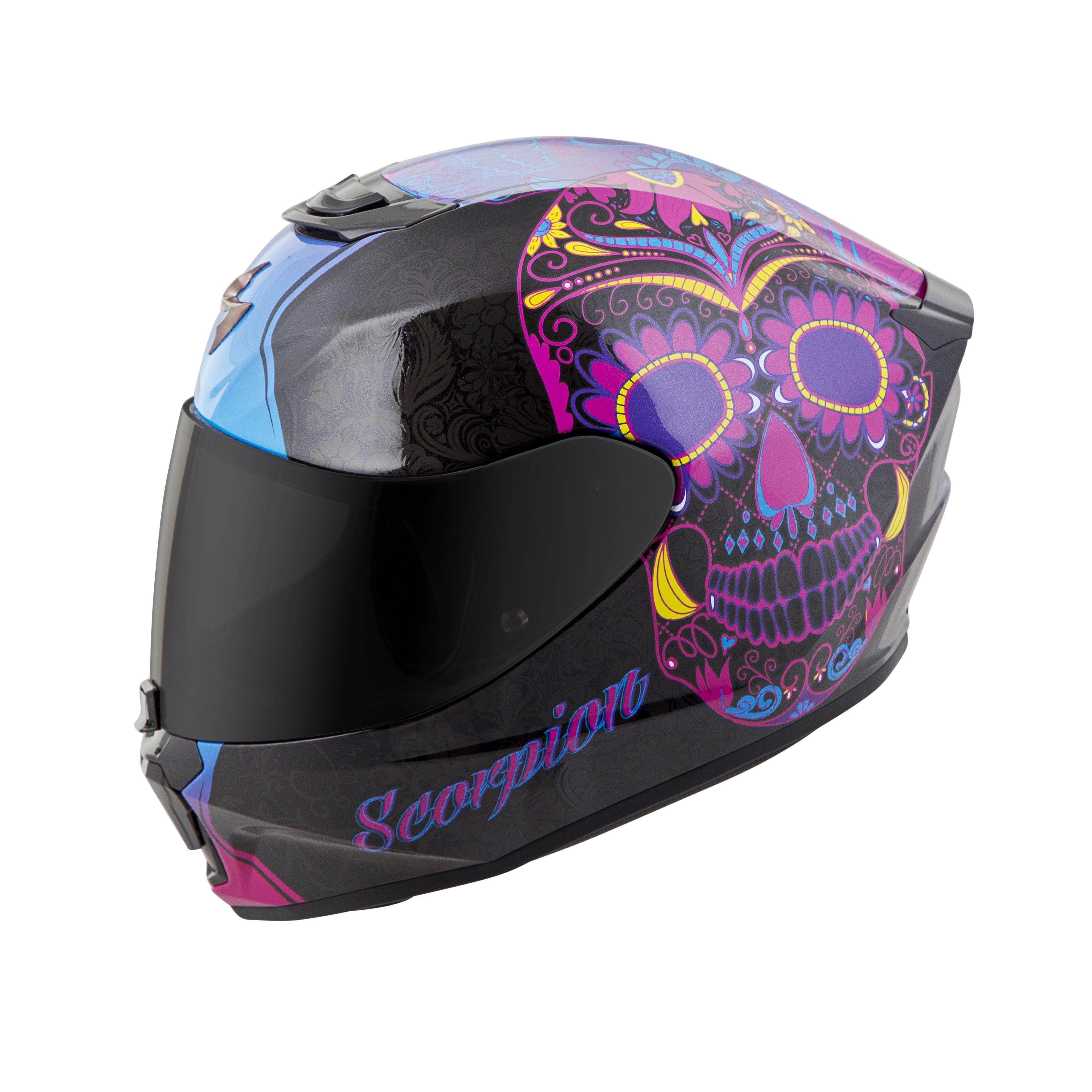 Scorpion Helmets EXO-R420 Sugarskull Helmet