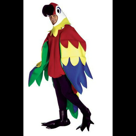 Parrot Adult Halloween Costume - One Size](Parrott Costume)