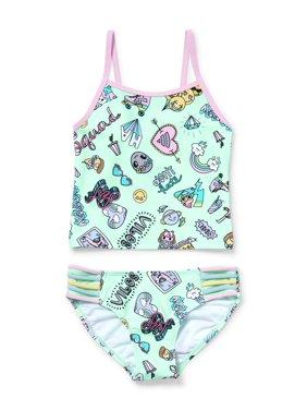 59f402498e4f Product Image Rainbow Doodles Tankini Swimsuit (Little Girls   Big Girls).  The Children s Place