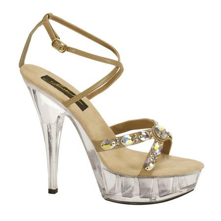 Image of Johnathan Kayne Juno Womens Taupe Sandals 9.5 M