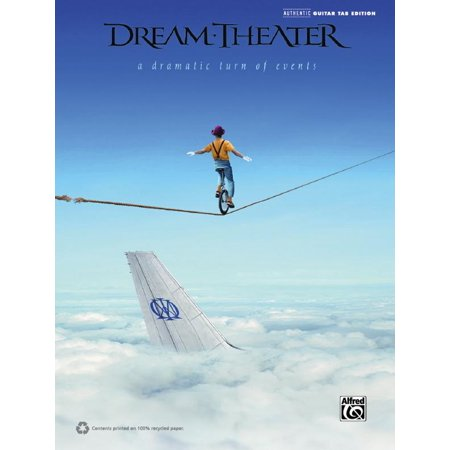 Authentic Guitar-Tab Editions: Dream Theater - A Dramatic Turn of Events (Other)