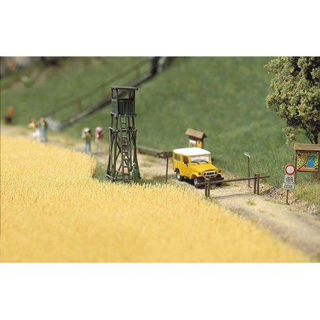Busch HO Scale Wheat Field Model Train Scenery Detail Kit 1204