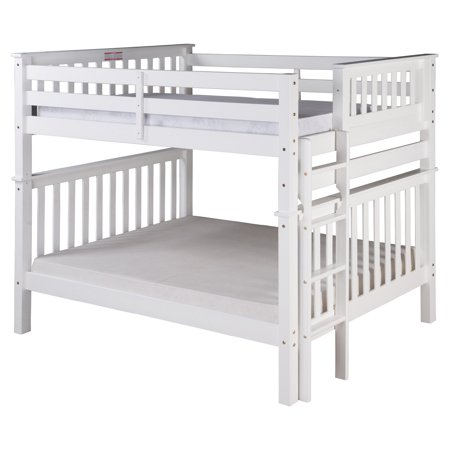 Santa Fe Mission Tall Bunk Bed Full over Full - Bed End Ladder ...