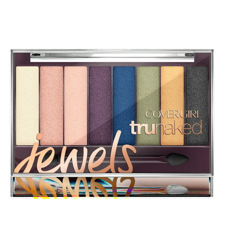 COVERGIRL TruNaked Eyeshadow Palette, 825 Jewels