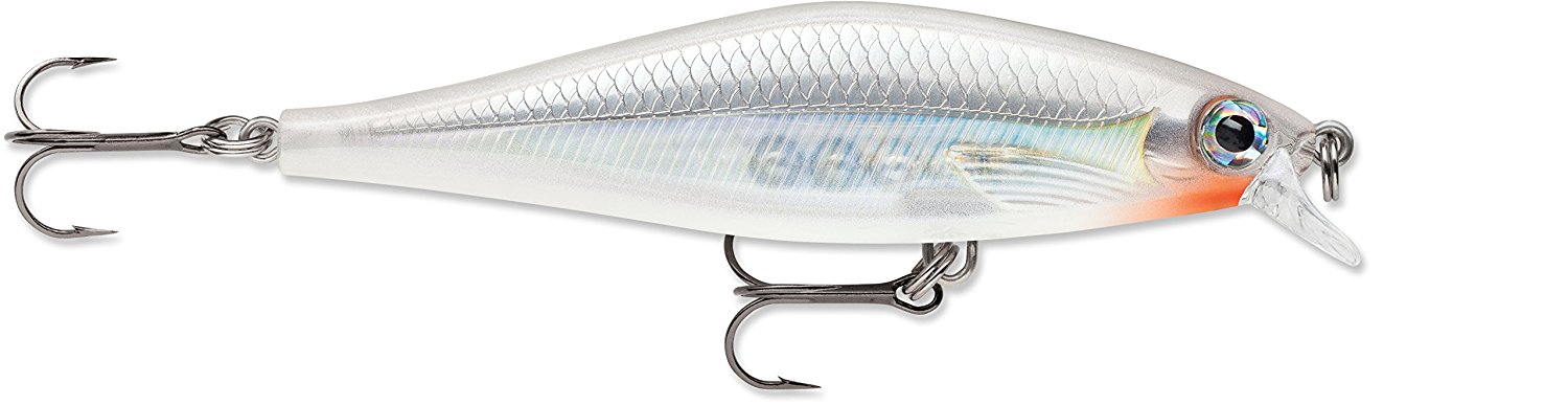 "Rapala Original Floating Lure Size 05, 2"" Length, 3'-5' Depth, 2 Number 10 Treble Hooks, Blue, Per 1 by Rapala"