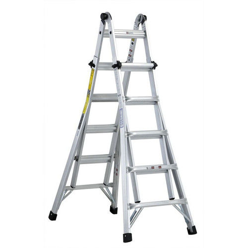 Louisville Ladder L-2098-22 22 ft. Aluminum Multipurpose Ladder, Type IA, 300 lbs. Load... by Louisville Ladder