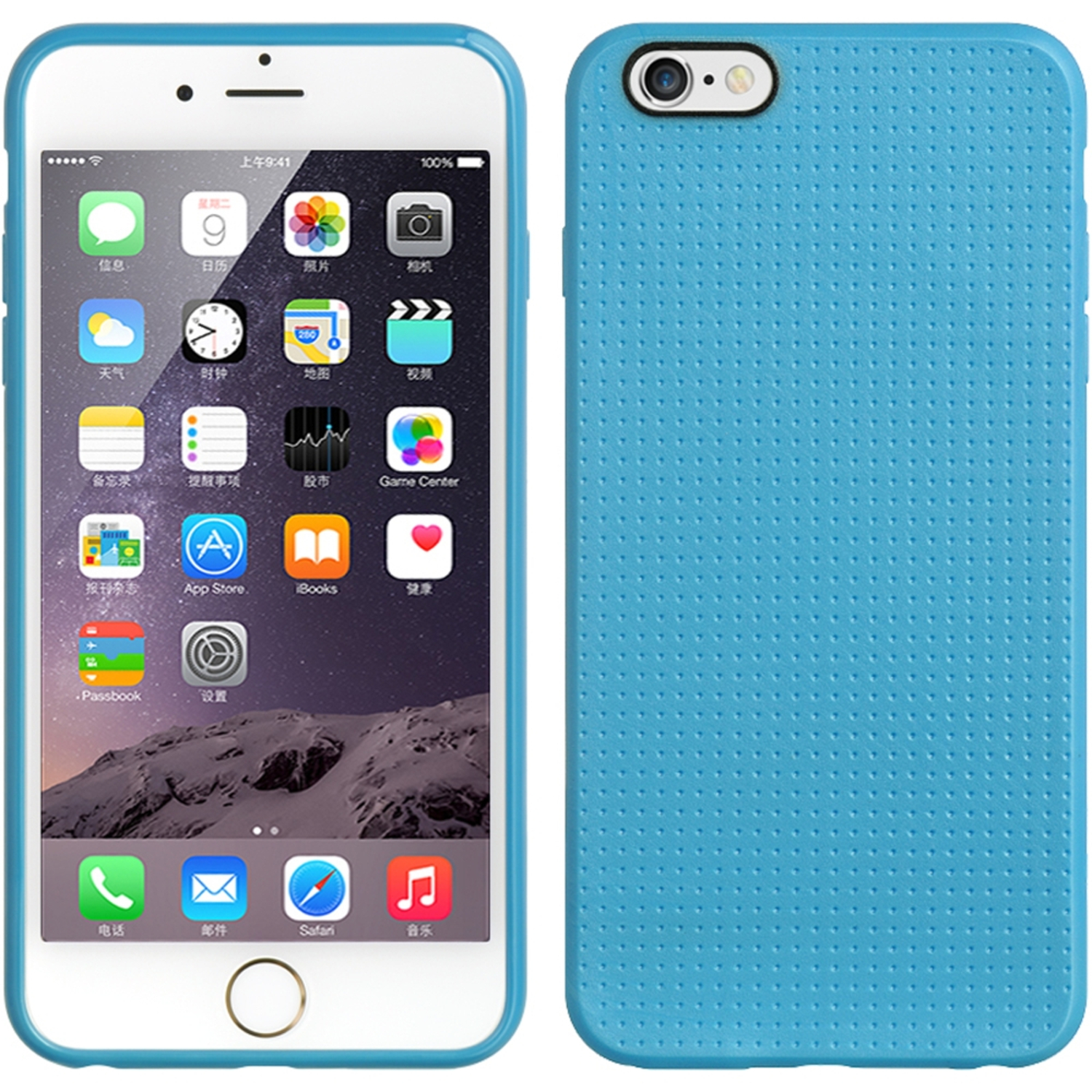 iPhone 6s Plus, iPhone 6 Plus Case, by Insten TPU Dots Ultra Thin Skin Rubber Gel Shell Case For Apple iPhone 6s Plus / 6 Plus