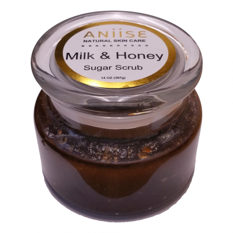 Aniise  Mil &  Honey sugar scrub 14 oz