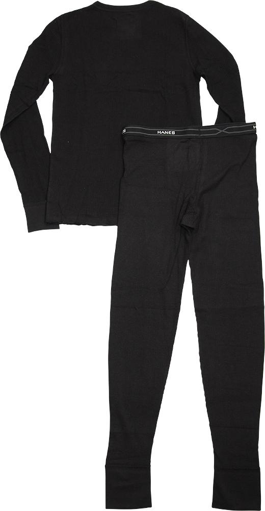 Hanes Heathered Grey 41069-Small Boys X-Temp Ultimate Thermal Underwear Set